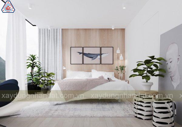 trang trí phòng ngủ thư giản