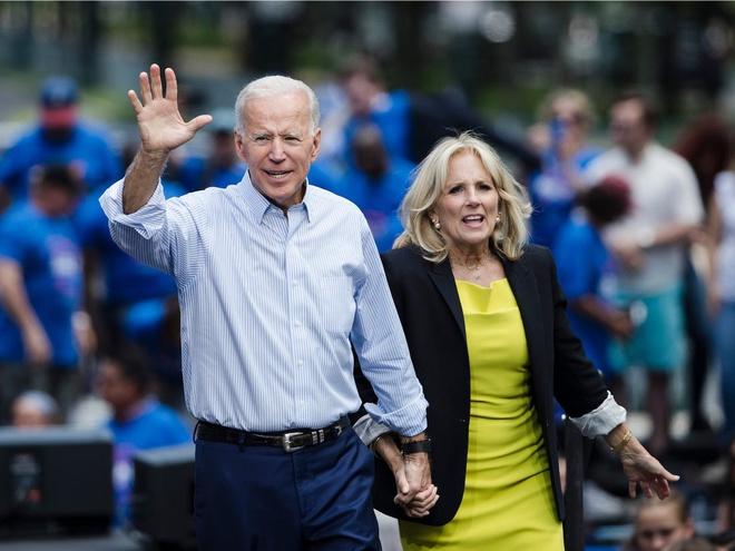 vợ chồng ông Joe Biden