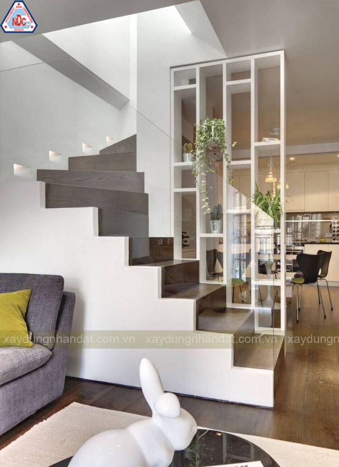 mẫu thiết kế cầu thang nhà phố đẹp