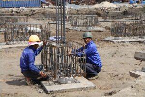 Mẫu thiết kế kết cấu thép đài móng cọc 4