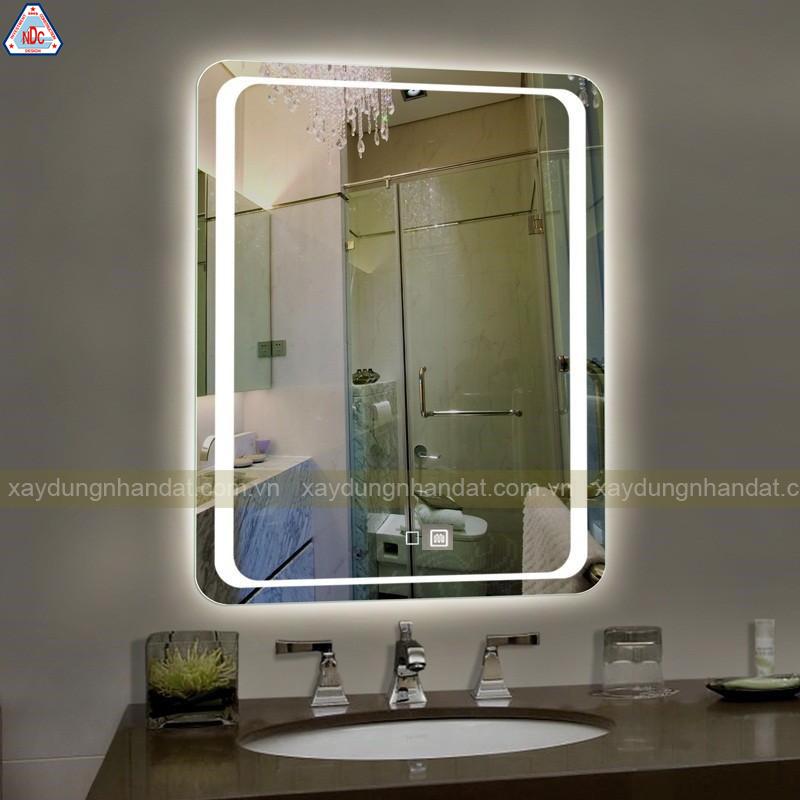 thiết kế gương phòng tắm hiện đại-sang trọng