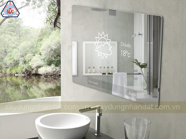 chọn màu sơn phòng tắm sang trọng