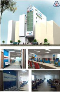 Thiết kế thi công cải tạo ngân hàng VietinBank