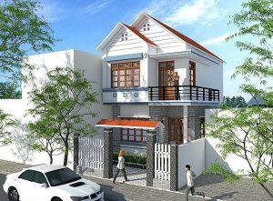 Mẫu thiết kế nhà 1 trệt 1 tầng số 2