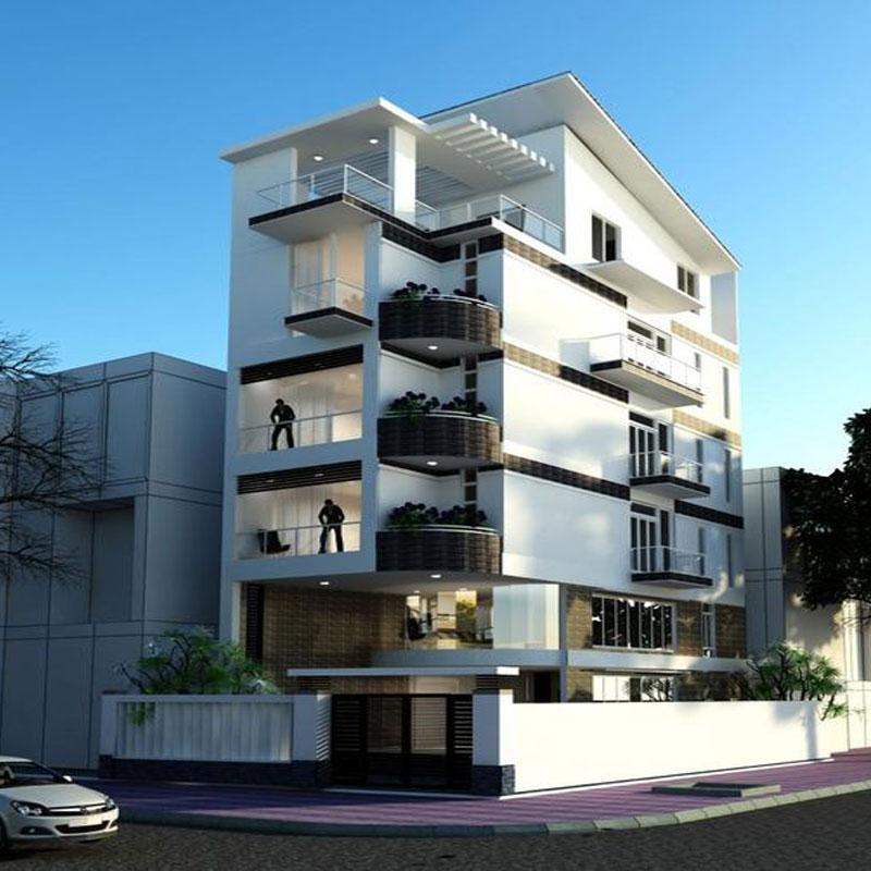 Chuyển thi công xây dựng nhà phố biệt thự.