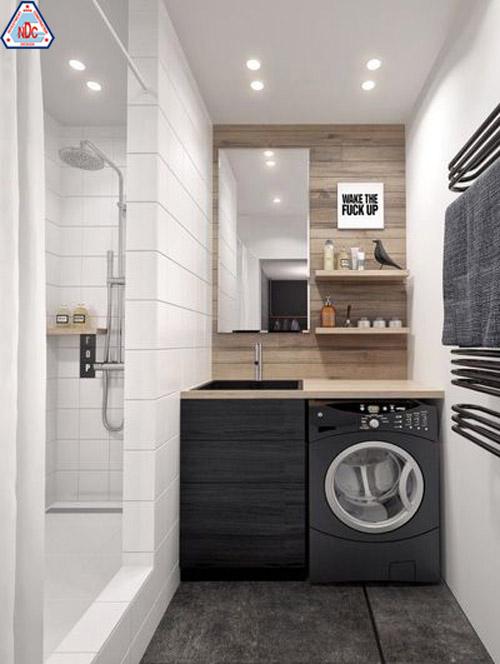 thiết kế phòng tắm nhỏ tiện lợi