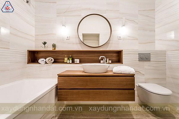 Thiết kế phòng tắm chuẩn 5 sao