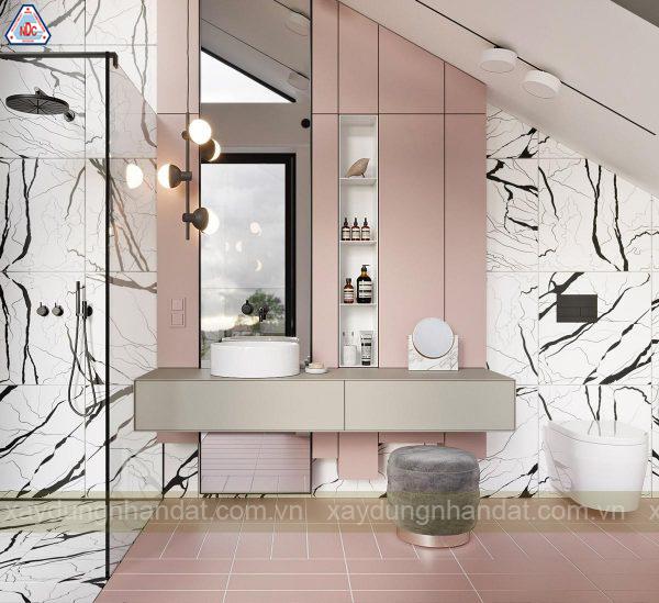 Ý tưởng thiết kế phòng tắm nhỏ