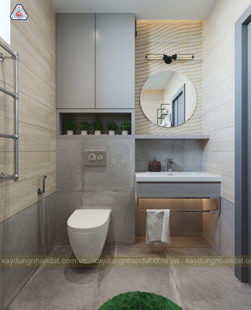 Cách bày trí nội thất phòng tắm đẹp