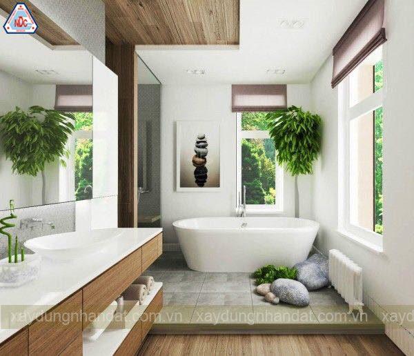 mẫu phòng tắm sang trọng đơn giản