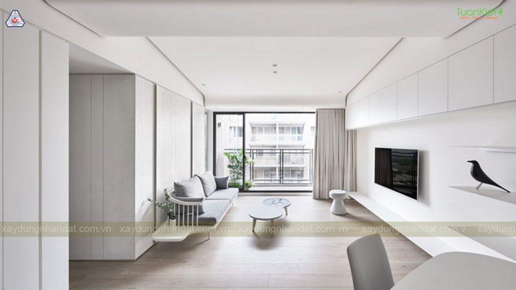Mẫu thiết kế nhà tối giản