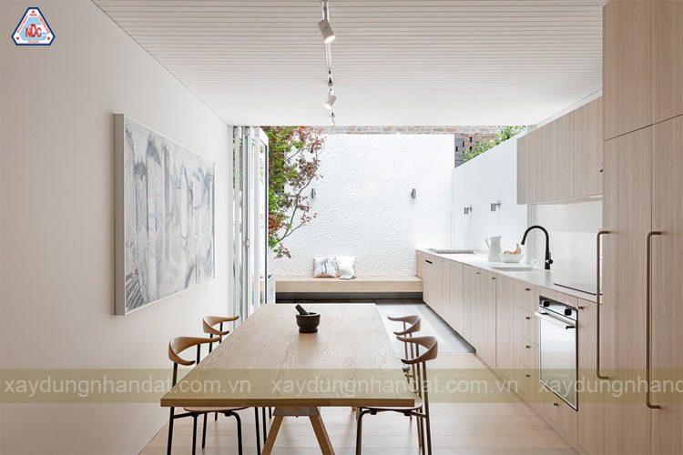 Mẫu thiết kế phòng bếp đơn giản