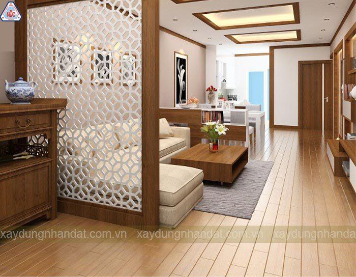 Vách ngăn CNC trong trang trí nội thất
