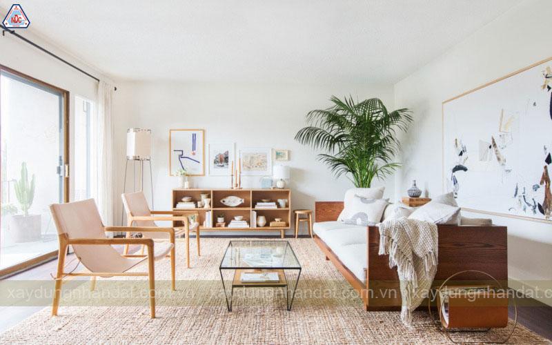 Thiết kế phòng khách đơn giản