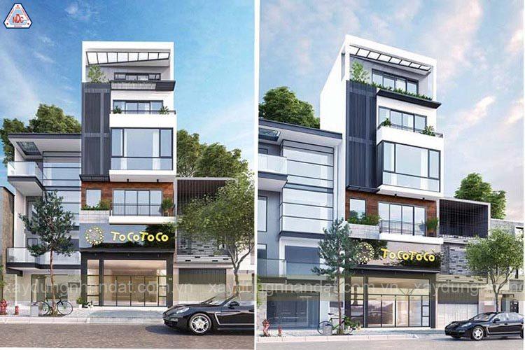 Thiết kế nhà phố kết hợp kinh doanh