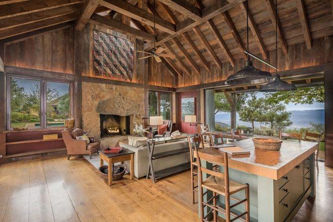 thiết kế không gian nhà gỗ