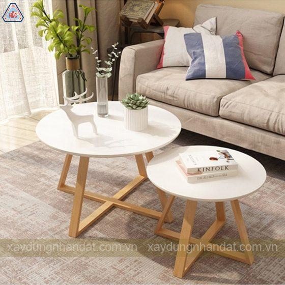 Mẫu bàn phòng khách đơn giản